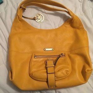 Yellow Michael Kors Hobo Bag